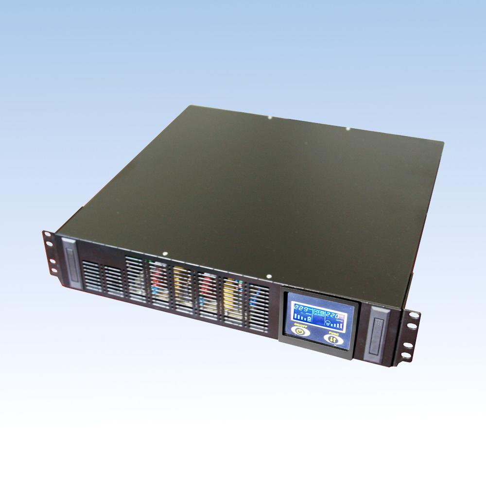 在线高频48VDC BH10L-N/1KVA长延时在线机架式2U  UPS电源