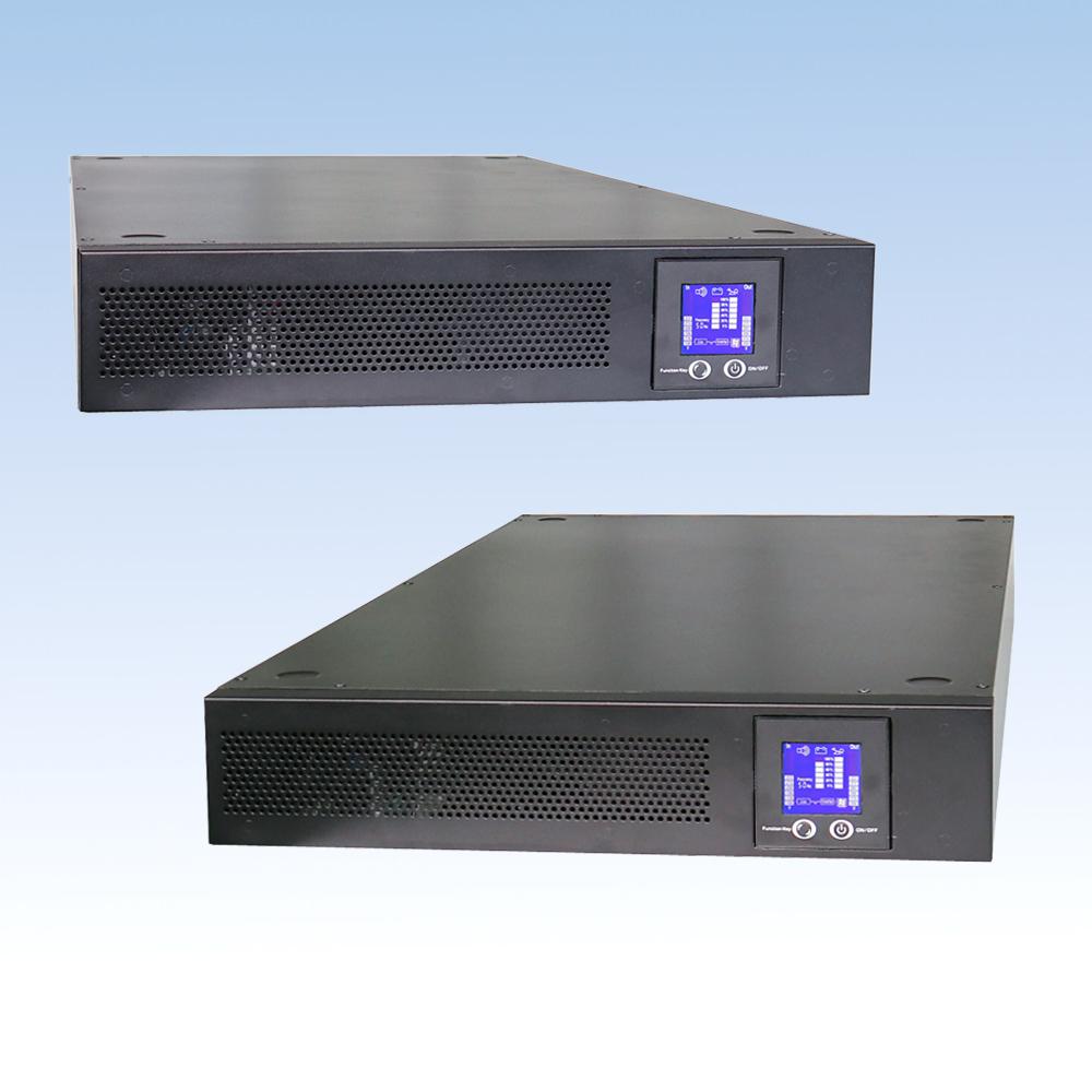 单相在线高频BH100L-X-RM/10KVA长机机架式2U UPS电源