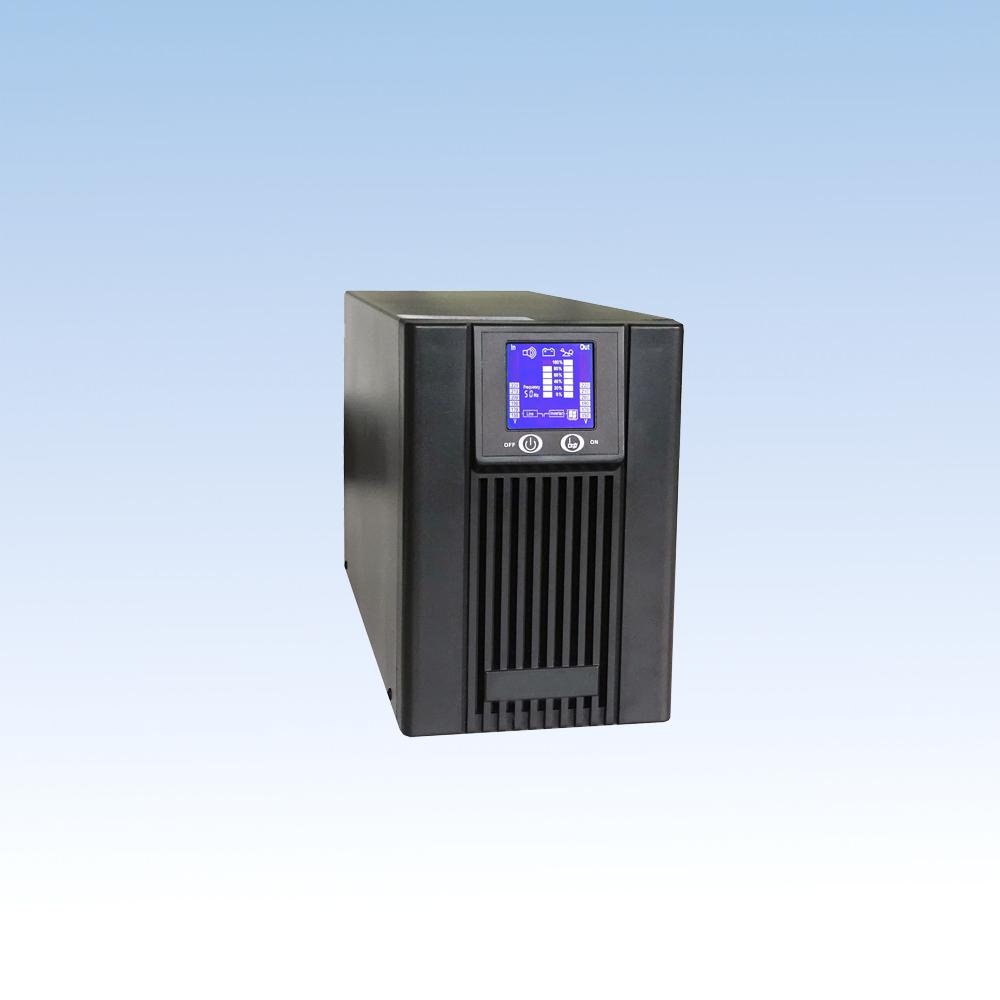 单相在线高频BH10S-X /1KVA标机(内置7AH*2/3节)UPS电源