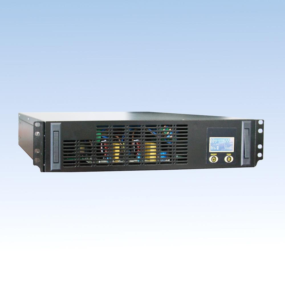 单相在线高频BH10S-RM/1KVA(内置7AH*2节48V或3节72V)机架式2U  UPS电源