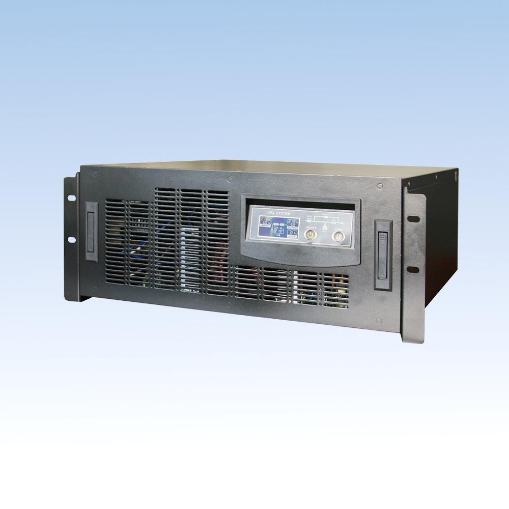 单相在线高频BH60L-RM/6KVA/192VDC长延时机架式4U  UPS电源