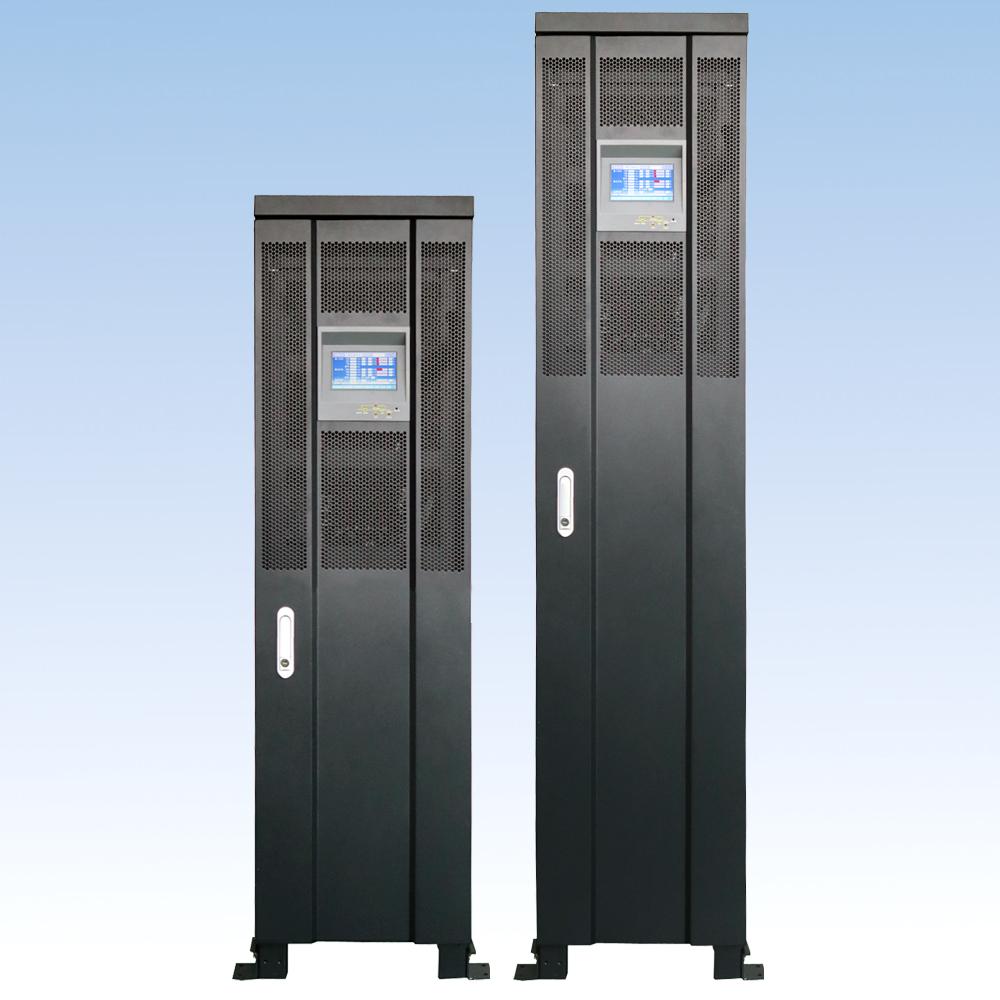 三相在线  IGBT整流  DT300S33/30KVA (内置7AH*64节电池)三进三出UPS电源