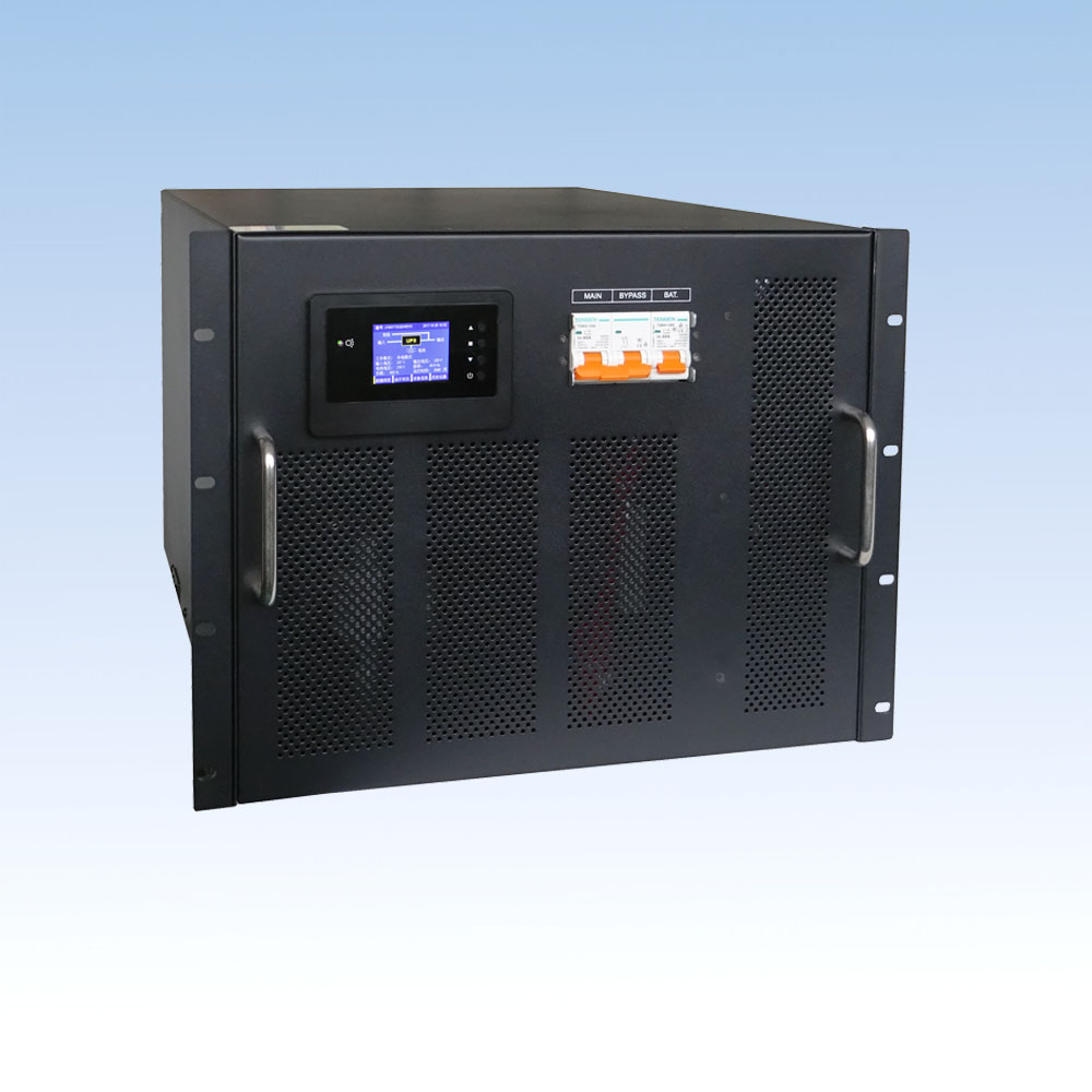 JY100L-RM/10KVA/192VDC 机架式长延时机 单进单出 UPS电源