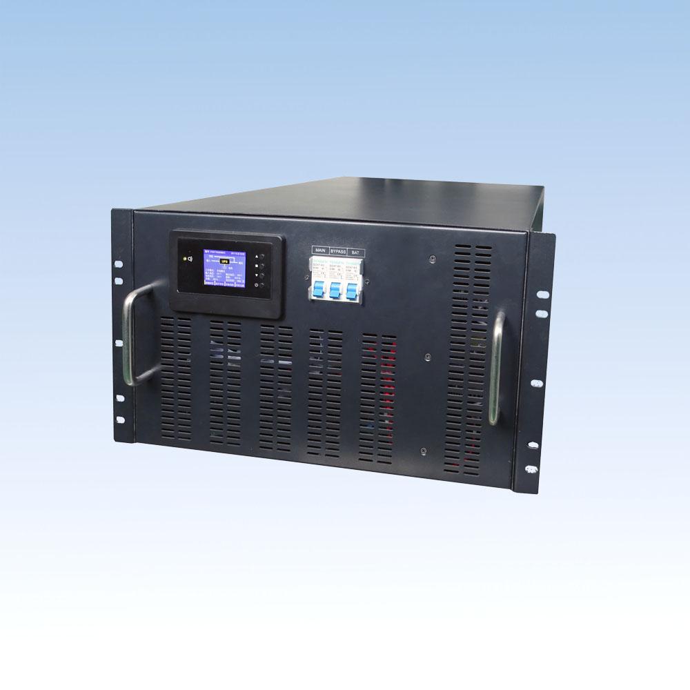 JY60L-RM/6KVA/192VDC 机架式长延时机 单进单出 UPS电源