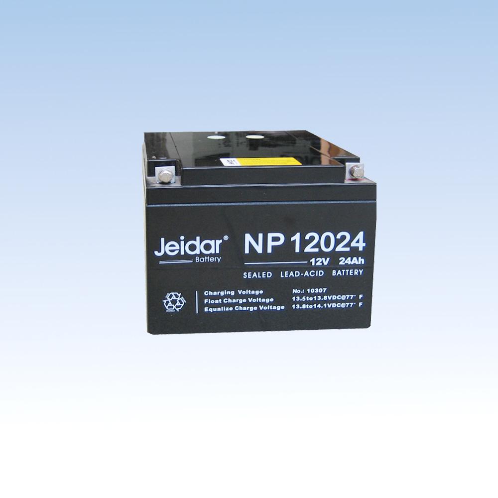 铅酸免维护蓄电池NP12024/12V/24AH