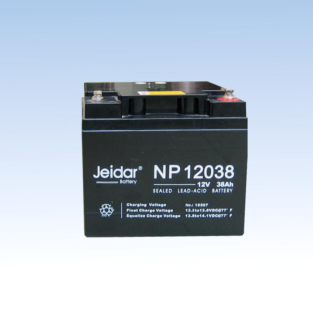 铅酸免保护蓄电池NP12038/12V/38AH