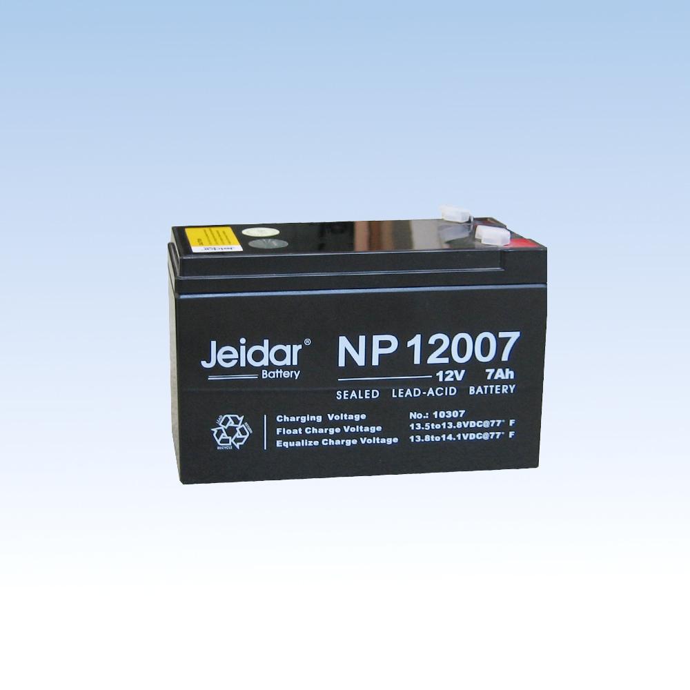 铅酸免保护蓄电池NP12007/12V/7AH
